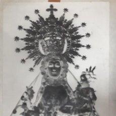 Fotografía antigua: ANTIGUO CLICHÉ DE NUESTRA SEÑORA DE LA FUENSANTA ALCAUDETE JAEN NEGATIVO EN CRISTAL. Lote 143014346