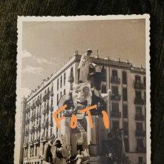 Fotografía antigua: ANTIGUA FOTOGRAFÍA. FALLA JESÚS SAN FRANCISCO DE BORJA. FALLAS DE VALENCIA. FOTO AÑOS 50.. Lote 143095442