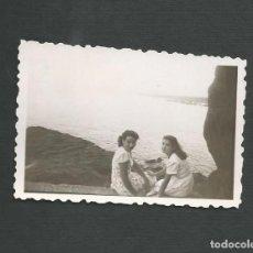 Fotografía antigua: ANTIGUA FOTOGRAFIA - SANTURCE - BILBAO - AÑOS CUARENTA. Lote 143125678