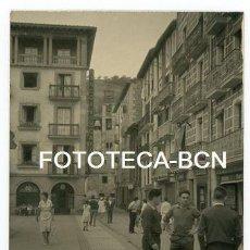 Fotografia antiga: FOTO ORIGINAL ZARAUTZ ZARAUZ PLAZA DE LA MUSICA EUSKADI AÑOS 60. Lote 143156786