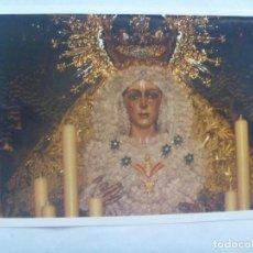 Fotografía antigua: SEMANA SANTA DE SEVILLA : FOTO DE LA MACARENA EN PASO PALIO. Lote 143171182