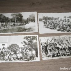 Fotografía antigua - Lote de 4 fotografias.Año 1961.Politecnico de sueca curso 3º . - 143256170