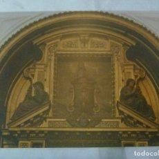 Fotografía antigua: GRAN FOTO DEL RETABLO DE S. JUAN EVANGELISTA. CONVENTO DE SANTA CLARA. SEVILLA... 13 X 18 CM. Lote 143412298