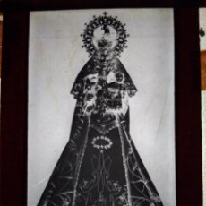 Fotografía antigua - ANTIGUO CLICHÉ DE LA PATRONA DE ROA BURGOS NEGATIVO EN CRISTAL - 143632414