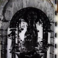 Fotografía antigua: A CAÑIZA PONTEVEDRA ANTIGUO CLICHÉ DE NTRA SRA DE LA FRANQUEIRA NEGATIVO EN CRISTAL. Lote 143635370