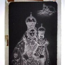 Fotografía antigua: ANTIGUO CLICHÉ MARÍA STMA DE ARACELI PATRONA DE LUCENA CÓRDOBA NEGATIVO EN CRISTAL. Lote 143636290