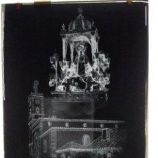 Fotografía antigua: VILLANUEVA DE LA FUENTE CIUDAD REAL ANTIGUO CLICHÉ NTRA SRA DE LOS DESAMPARADOS NEGATIVO EN CRISTAL. Lote 143637558
