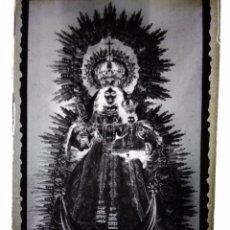 Fotografía antigua: BOLLULLOS PAR DEL CONDADO HUELVA ANTIGUO CLICHÉ DE NTRA SRA DE LAS MERCEDES NEGATIVO EN CRISTAL. Lote 143638666