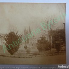 Fotografía antigua: FOTOGRAFÍA ANTIGUA ORIGINAL. CATEDRAL DE BURGOS (7,5 X 6,5 CM). Lote 143691922
