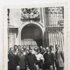 Fotografía antigua: MISIÓN ARTISTICA MONTAÑES EN LA CATEDRAL DE JAÉN. 1953. Lote 143700036