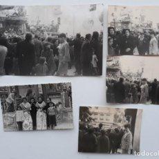 Photographie ancienne: LOTE 40 FOTOGRAFIAS FALLAS VALENCIA. Lote 143764174