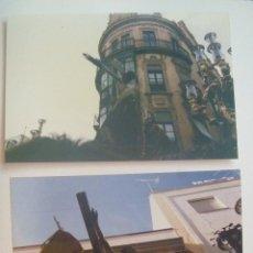 Fotografía antigua: SEMANA SANTA DE SEVILLA : LOTE DE 2 FOTOS DE PASO DE CRISTO CRUCIFICADO. Lote 143784362