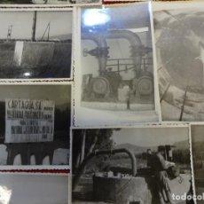 Fotografía antigua: MOTRIL (GRANADA). LOTE DE 11 FOTOS 14 X 9 CTMS. FECHADAS EN 1961. SELLO FOTOGRAFO AL DORSO. Lote 144351066