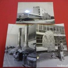 Fotografía antigua: CERVEZAS SKOL. BREDA (BARCELONA). 3 FOTOS 11 X 7 CTMS. FECHADAS EN 1967. Lote 144351922