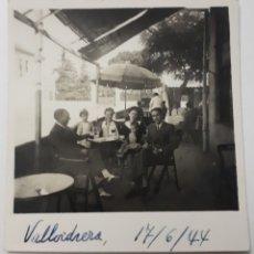 Fotografía antigua: VALLVIDRERA. 1944. Lote 144621948