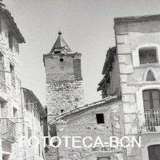 Fotografía antigua: NEGATIVO 35 MM GARGALLO CALLE DE LA POBLACION COMARCA ANDORRA SIERRA DE ARCOS TERUEL AÑO 1967. Lote 144724582