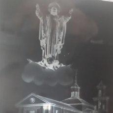 Fotografía antigua: ANTIGUO CLICHÉ DEL SANTUARIO NACIONAL DE LA GRAN PROMESA VALLADOLID NEGATIVO EN CRISTAL. Lote 144901194