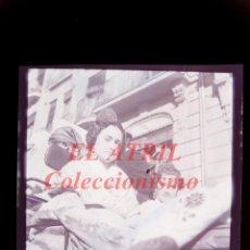 Fotografía antigua: VALENCIA - FALLAS, CARRUAJE CABALGATA FALLERAS - NEGATIVO EN CELULOIDE - AÑO 1944. Lote 145047198