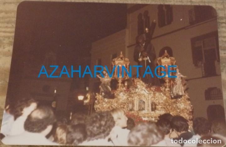 SEMANA SANTA SEVILLA, 1981, CRISTO DE LOS GITANOS, 125X90MM (Fotografía Antigua - Fotomecánica)