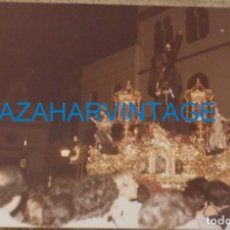 Fotografía antigua: SEMANA SANTA SEVILLA, 1981, CRISTO DE LOS GITANOS, 125X90MM. Lote 145163162