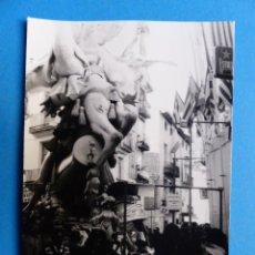 Fotografía antigua: VALENCIA - EN FALLAS - FOTOGRAFICA - AÑOS 1970. Lote 145336434