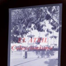 Fotografía antigua: VALENCIA - PUENTE DEL REAL - NEGATIVO EN CELULOIDE - AÑOS 1940-50. Lote 145472430