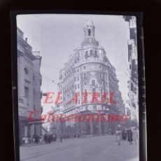 Fotografía antigua: VALENCIA - CALLE DE LAS BARCAS - NEGATIVO EN CELULOIDE - AÑOS 1940-50. Lote 145472658