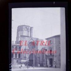 Fotografía antigua: VALENCIA - PLAZA DE LA VIRGEN - NEGATIVO EN CELULOIDE - AÑOS 1940-50. Lote 145473166