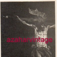 Fotografía antigua: SEMANA SANTA SEVILLA, ANTIGUA FOTOGRAFIA STMO.CRISTO DEL AMOR, 70X100MM. Lote 145680546