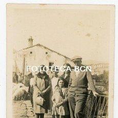 Fotografía antigua: FOTO ORIGINAL PONT DE CLAVEROL RIO NOGUERA PALLARESA CONCA DE DALT AÑOS 20. Lote 145949018