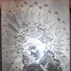 Fotografía antigua: ANTIGUO CLICHÉ DE LA ESPERANZA DE LA TRINIDAD SEVILLA NEGATIVO EN CRISTAL. Lote 146026158