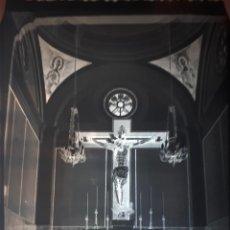 Fotografía antigua: ANTIGUO CLICHÉ DEL SANTÍSIMO CRISTO DEL CONSUELO TARIFA CADIZ NEGATIVO EN CRISTAL. Lote 146039010