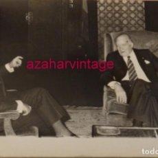 Fotografía antigua: MADRID, 1978, JOSEP TARRADELLAS Y EL MINISTRO DE CULTURA, PIO CABANILLAS, 240X180MM. Lote 146125366