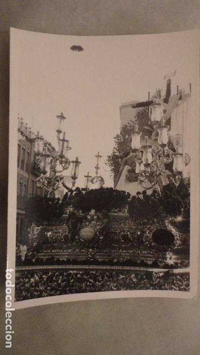 ANTIGUA FOTOGRAFIA.CRISTO MISERICORDIA.VIRGEN DE LA PIEDAD.SEVILLA AÑOS 60 (Fotografía Antigua - Fotomecánica)