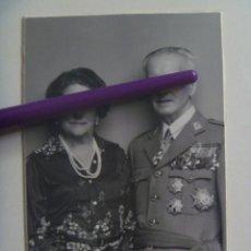 Fotografía antigua: RETRATO DE GENERAL MUY CONDECORADO , ORDEN DE ITALIA, ETC . DE KAULAK.. Lote 146297370