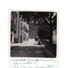 Fotografía antigua: CÁCERES.- BAÑOS DE MONTEMAYOR 1960.- 12 X 8,5 CM. Lote 146309714