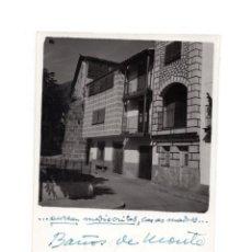 Fotografía antigua: CÁCERES.- BAÑOS DE MONTEMAYOR 1960.- 12 X 8,5 CM. Lote 146309802