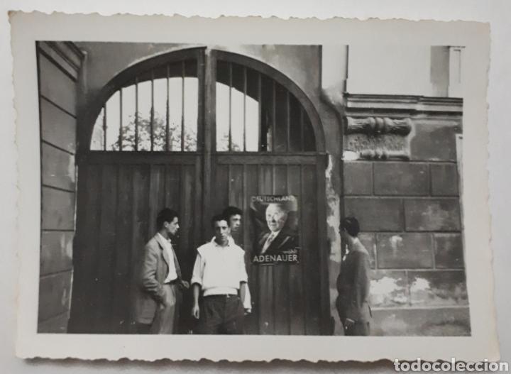 CÁNTABROS QUE PARTICIPARON EN EUROPÄISCHE WOCHEN. PASSAU ALEMANIA 1953. DE TURISMO (Fotografía Antigua - Fotomecánica)