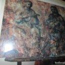 Fotografía antigua: MUSICOS ANTIGUA FOTO ORIGINAL DE PINTURA EN EL CABALLETE ESTUDIO DE ANTONIO FERRI VALENCIA . Lote 146965802
