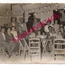 Fotografía antigua: CANTILLANA, AÑOS 50, ANTIGUA FOTOGRAFIA VELADA FIESTAS PATRONALES, 140X90MM. Lote 147079954