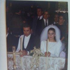 Fotografía antigua: FOTO ORIGINAL DE LA BODA DEL TORERO PAQUIRRI E ISABEL PANTOJA . Lote 147470214