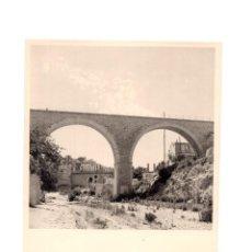 Fotografía antigua: FOTOGRAFÍA.- VILLAJOYOSA. ALICANTE.-1956.- 11,5 X 15,5 CM. Lote 147589858