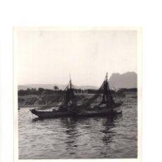 Fotografía antigua: FOTOGRAFÍA.- VILLAJOYOSA. ALICANTE.-1956.- 11,5 X 15,5 CM. Lote 147589954