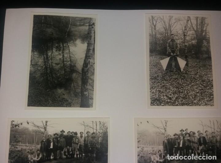 Fotografía antigua: Boy Scouts. Fotografías años 40, lote de 7, Reino Unido, excursión al río - Foto 2 - 147605346