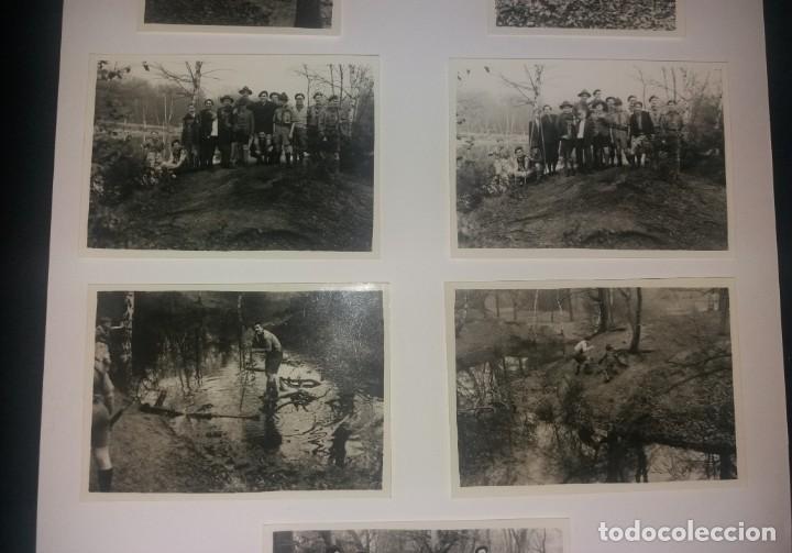 Fotografía antigua: Boy Scouts. Fotografías años 40, lote de 7, Reino Unido, excursión al río - Foto 3 - 147605346