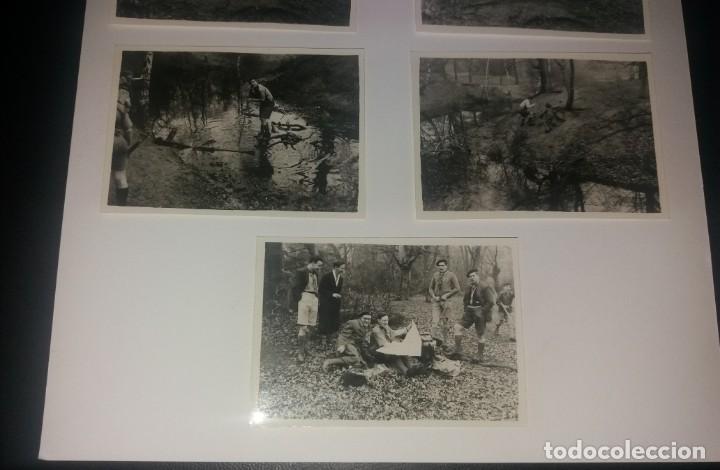Fotografía antigua: Boy Scouts. Fotografías años 40, lote de 7, Reino Unido, excursión al río - Foto 4 - 147605346