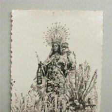 Fotografía antigua: FOTOGRAFÍA DE 1951. PROCESIÓN CORONACIÓN CANÓNICA DE LA VIRGEN DEL CARMEN DE SAN FERNANDO (CÁDIZ) . Lote 147648550