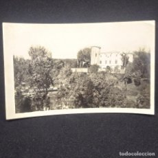 Fotografía antigua: 1954 FOTOGRAFÍA CASTILLO MONSOLIS. SAN HILARIO DE SACALM ESCRITA POR DETRÁS EN CATALÁN. CATALÀ. Lote 147715454