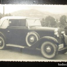 Fotografía antigua: ANTIGUA FOTOGRAFÍA DE CHRYSLER IMPERIAL DE LOS AÑOS 20. MATRÍCULA DE OVIEDO 8157.. Lote 147842206