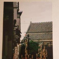 Fotografía antigua: ESCENA PROCESION CRISTO DE SAN BERNARDO SEVILLA. Lote 147906974